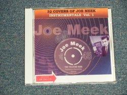 """画像1: V.A. OMNIBUS -  32 COVERS OF JOE MEEK INSTRUMENTALS  /  2012 EU """"SIngles Label Jacket""""  Brand New CD-R"""