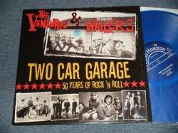 """画像1: THE VENTURES &  THE FABULOS WAILERS - TWO CAR GARAGE (MINT/MINT) / 2009 US AMERICA ORIGINAL """"Limited BLUE WAX"""" Used LP"""