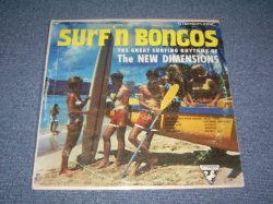 画像1: THE NEW DIMENSIONS - SURFIN' BONGOS ( Ex/Ex+++) / 1963 US ORIGINAL Stereo  LP