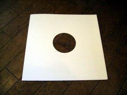 画像1: LP用 コート紙丸穴ジャケ 10枚セット